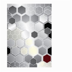 Honeycomb Pattern Large Garden Flag (two Sides) by BangZart