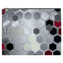 Honeycomb Pattern Cosmetic Bag (xxxl)