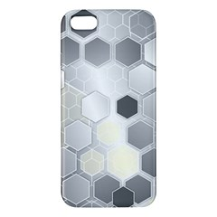 Honeycomb Pattern Apple Iphone 5 Premium Hardshell Case