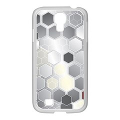 Honeycomb Pattern Samsung Galaxy S4 I9500/ I9505 Case (white)