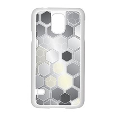 Honeycomb Pattern Samsung Galaxy S5 Case (white)
