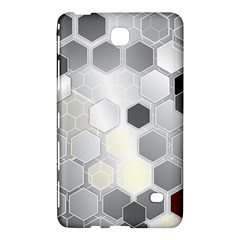 Honeycomb Pattern Samsung Galaxy Tab 4 (7 ) Hardshell Case
