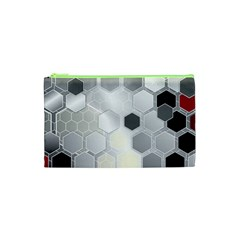 Honeycomb Pattern Cosmetic Bag (xs)