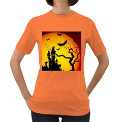 Halloween Night Terrors Women s Dark T Shirt