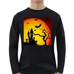 Halloween Night Terrors Long Sleeve Dark T Shirts