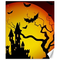 Halloween Night Terrors Canvas 8  X 10