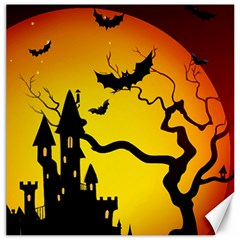 Halloween Night Terrors Canvas 20  X 20