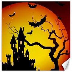 Halloween Night Terrors Canvas 20  X 20