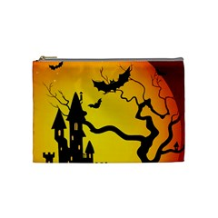 Halloween Night Terrors Cosmetic Bag (medium)