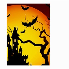 Halloween Night Terrors Small Garden Flag (two Sides)