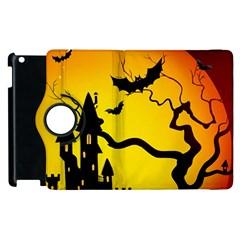 Halloween Night Terrors Apple Ipad 2 Flip 360 Case