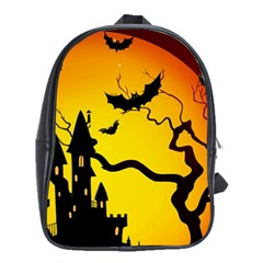 Halloween Night Terrors School Bags (xl)  by BangZart