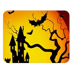 Halloween Night Terrors Double Sided Flano Blanket (large)