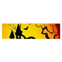 Halloween Night Terrors Satin Scarf (oblong) by BangZart