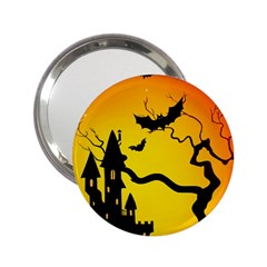 Halloween Night Terrors 2 25  Handbag Mirrors