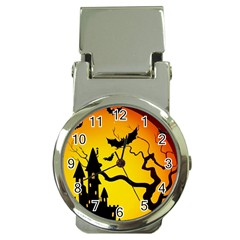 Halloween Night Terrors Money Clip Watches