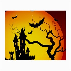 Halloween Night Terrors Small Glasses Cloth (2 Side) by BangZart