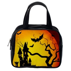 Halloween Night Terrors Classic Handbags (one Side)