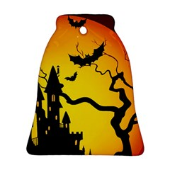 Halloween Night Terrors Bell Ornament (two Sides) by BangZart