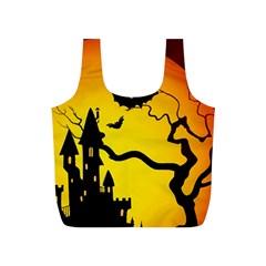 Halloween Night Terrors Full Print Recycle Bags (s)