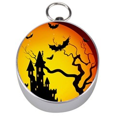 Halloween Night Terrors Silver Compasses by BangZart
