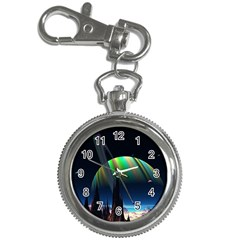Planets In Space Stars Key Chain Watches
