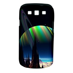 Planets In Space Stars Samsung Galaxy S Iii Classic Hardshell Case (pc+silicone) by BangZart