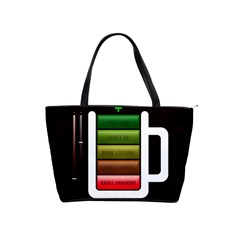 Black Energy Battery Life Shoulder Handbags