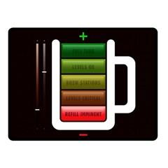 Black Energy Battery Life Fleece Blanket (small)