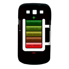 Black Energy Battery Life Samsung Galaxy S Iii Classic Hardshell Case (pc+silicone)