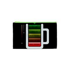 Black Energy Battery Life Cosmetic Bag (xs)
