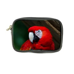 Scarlet Macaw Bird Coin Purse by BangZart