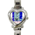 Ethan T-Shirt  front Heart Italian Charm Watch