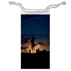 Art Sunset Anime Afternoon Jewelry Bag