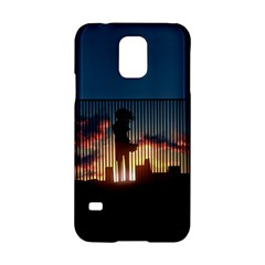 Art Sunset Anime Afternoon Samsung Galaxy S5 Hardshell Case