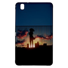 Art Sunset Anime Afternoon Samsung Galaxy Tab Pro 8 4 Hardshell Case