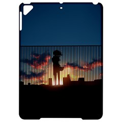 Art Sunset Anime Afternoon Apple Ipad Pro 9 7   Hardshell Case by BangZart