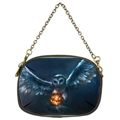 Owl And Fire Ball Chain Purses (one Side)