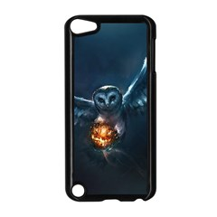 Owl And Fire Ball Apple Ipod Touch 5 Case (black) by BangZart