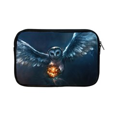 Owl And Fire Ball Apple Ipad Mini Zipper Cases by BangZart