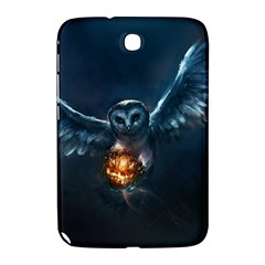 Owl And Fire Ball Samsung Galaxy Note 8 0 N5100 Hardshell Case  by BangZart