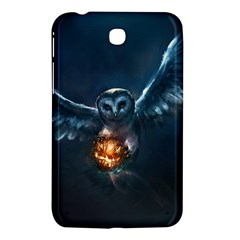 Owl And Fire Ball Samsung Galaxy Tab 3 (7 ) P3200 Hardshell Case  by BangZart
