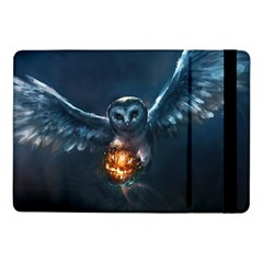 Owl And Fire Ball Samsung Galaxy Tab Pro 10 1  Flip Case