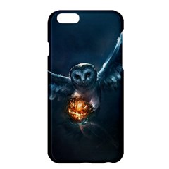 Owl And Fire Ball Apple Iphone 6 Plus/6s Plus Hardshell Case by BangZart