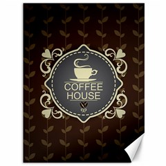 Coffee House Canvas 36  X 48