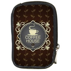 Coffee House Compact Camera Cases
