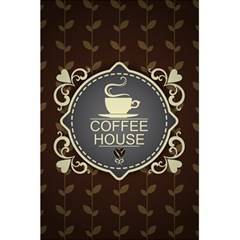 Coffee House 5 5  X 8 5  Notebooks by BangZart
