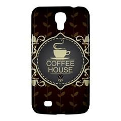 Coffee House Samsung Galaxy Mega 6 3  I9200 Hardshell Case