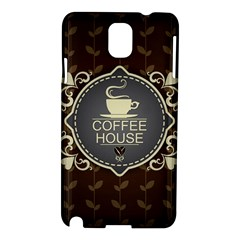 Coffee House Samsung Galaxy Note 3 N9005 Hardshell Case