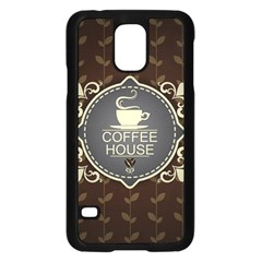 Coffee House Samsung Galaxy S5 Case (black)